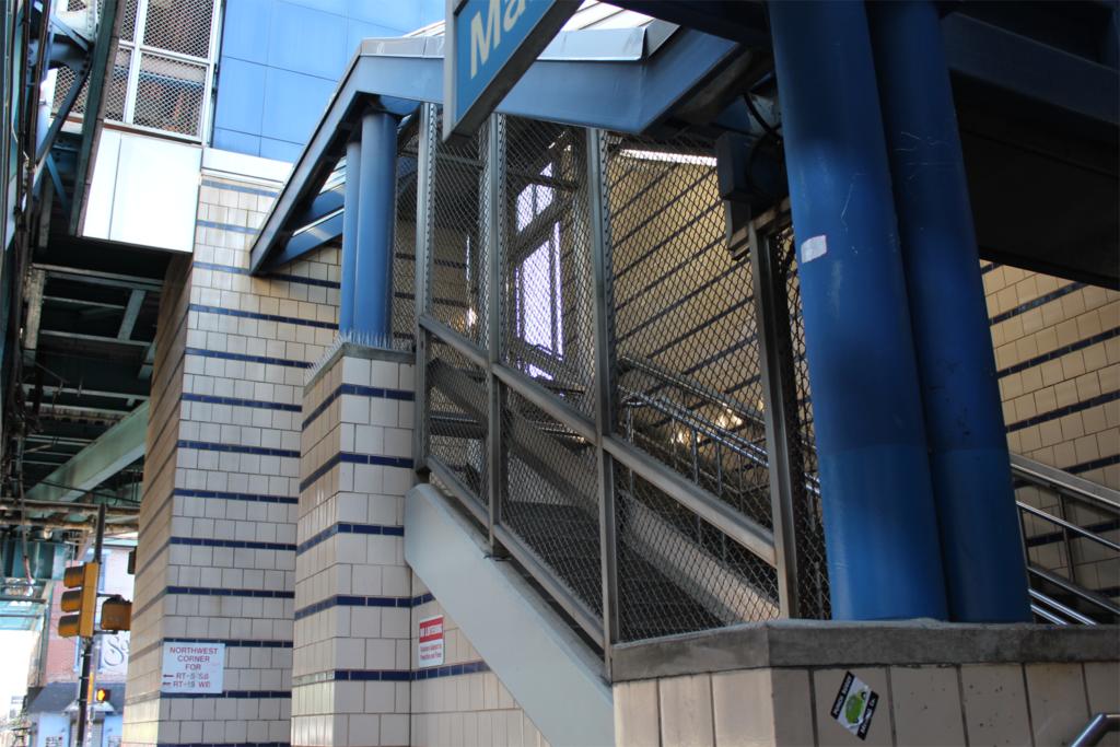 SEPTA Market & Frankfurt Station Stair Railings & Partitions