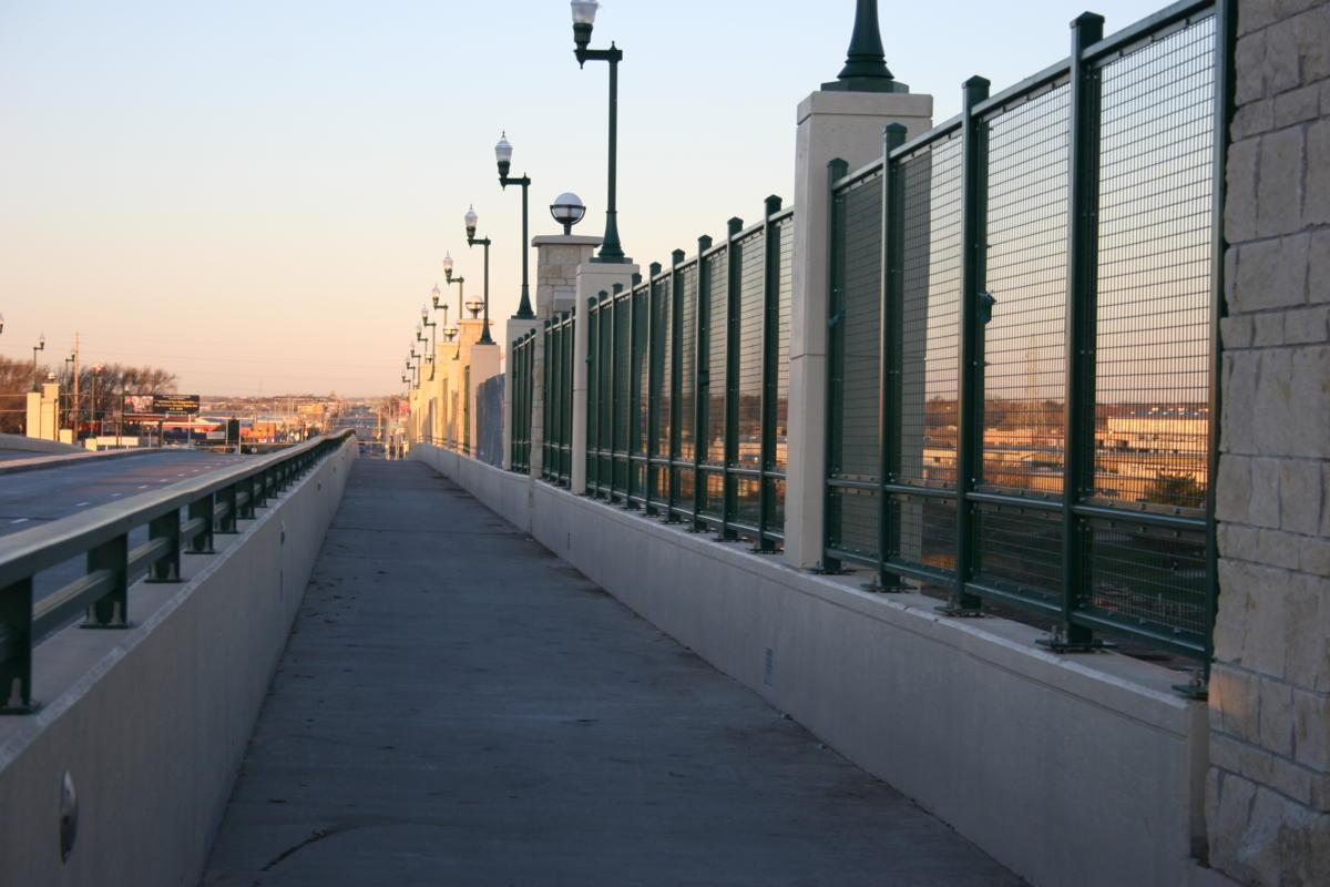 Installed Welded Wire Mesh Panels